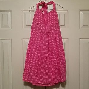 Dresses & Skirts - Polka Dot Pink Sundress